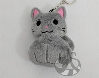 Cat Plush Keychain