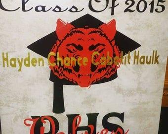 Graduation Tile Art