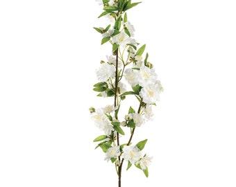 Apple Blossom Branch Cream 92cm