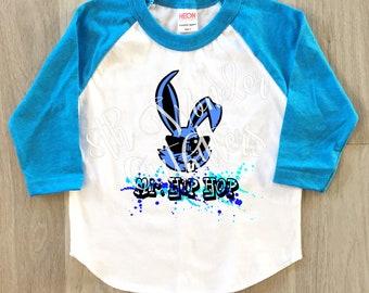 Mr. Hip Hop Easter shirt, Easter shirt, vintage looking shirt, toddler shirt, boy shirt, girl shirt, youth shirt