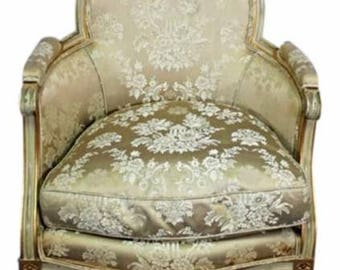 Fauteuil Style Bergere Etsy - Fauteuil style