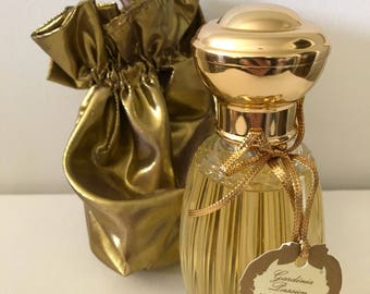 "Vintage Annick Goutal Eau de Parfum / 100 ml (3 1/2"" fl oz) Gardenia Passion / Full bottle"