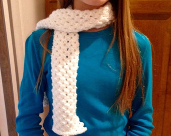 Cell Style Knit Scarf