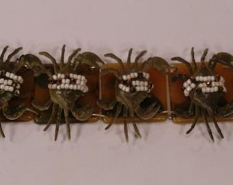 Sea bracelet, crabs-band Bracelet