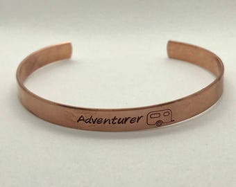 Adventurer Copper Cuff