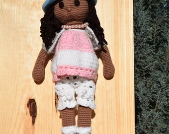 Amigurumi doll, Crochet Doll, Birthday gift, Girl toy, Doll , Gift, Handmade Crochet Doll, Gift For Kids