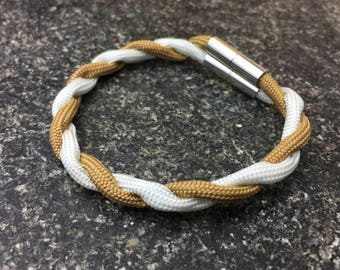 Magnetic Paracord Bracelet / Any Two Colors / Gifts for Her / Gifts for Him/  Custom / Handmade / FREE SHIPPING