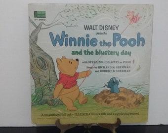 Walt Disney - Winnie The Pooh & The Blustery Day - Circa 1967