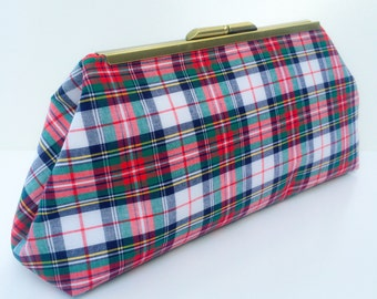 Tartan Plaid Clutch