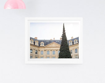 Paris photography Print - Paris Christmas photography