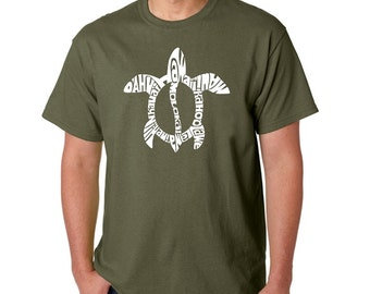 Men's T-shirt - Honu Turtle - Hawaiin Islands