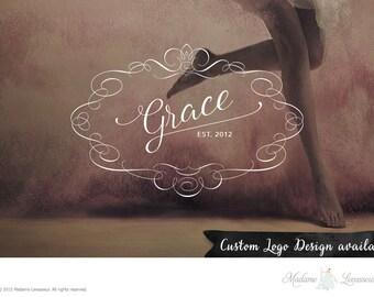 Custom logo design vintage logo floral logo frame logo photography logo boutique logo creative branding vintage logo design restaurant logo