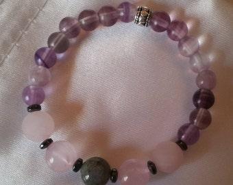 Reiki Infused Crystal Bracelet