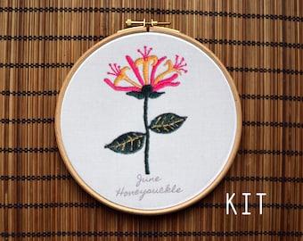 Birth Flower Kits: June Honeysuckle