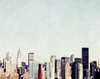 "New York, Art, 8x10 Print, New York Photography, NY Skyline, New York Wall Decor, Chrysler Building, Architectural ""Had Me NY"""