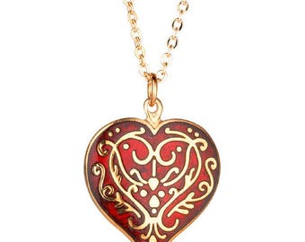 Niello Heart