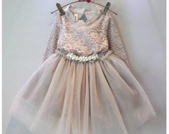 The Silver Grey Doll Dress