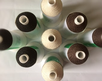 3/18 Somac Linen Thread 25g for Hand Stitched Leather Crafts, Book Binding,Mane and Tail Plaiting