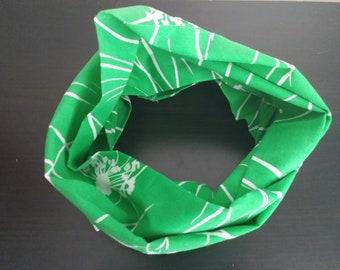 Springtime Green Infinity Scarf