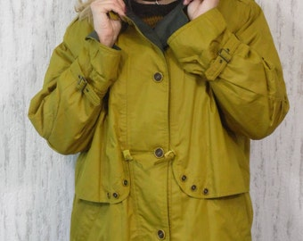 Vintage olive green jacket coat