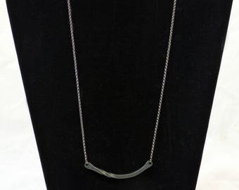 Steel Twist Necklace