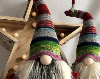 "Swedish Tomte Nordic Nisse ""Sif"" female Gnome JulTomte Woodland decoration  DaVinciDollDesigns©"