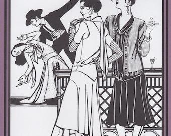 FW237 - Folkwear #237, 1920's Tango Dress Sewing Pattern