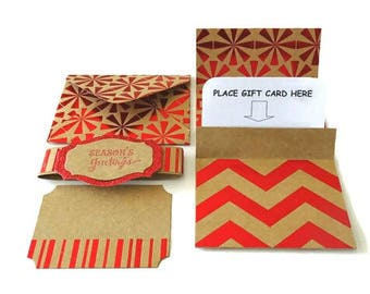 Gift card envelope, Gift envelopes, Card and envelope, Gift card sleeve, Christmas gift wrap, Kraft envelopes, Christmas wrapping paper
