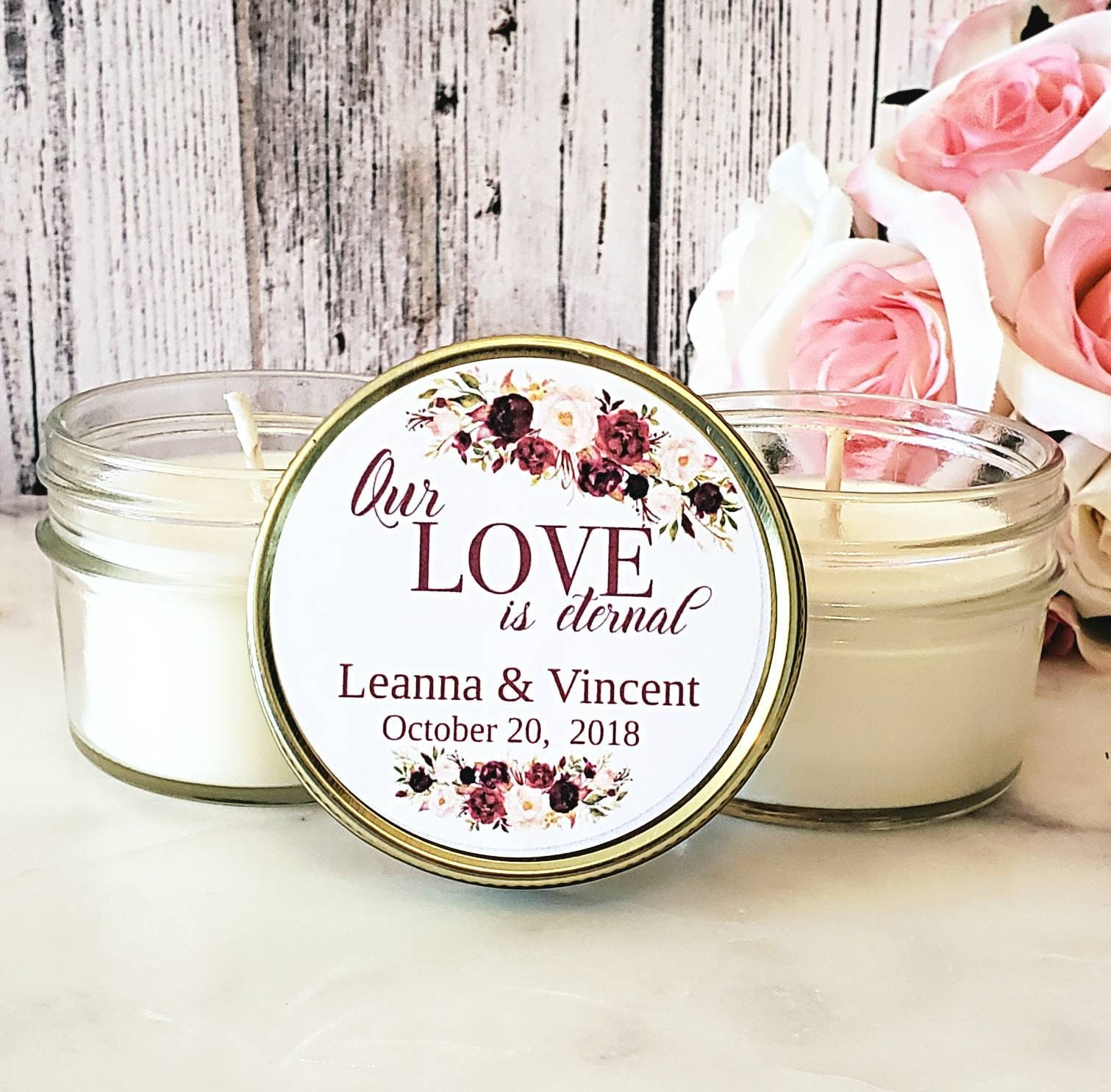 Fine Candles For Wedding Favors Gallery - The Wedding Ideas ...