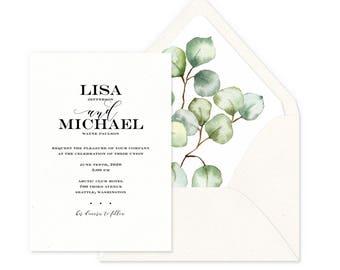 True Affection Wedding Invitations