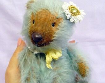 Artist Teddy bear Stuffed Animal Teddy Bear Author's work Interior toy collection Stuffed Bear Author's bear Plushies ooak toy teddy