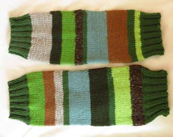 Leg Warmers - Handknit leg warmers