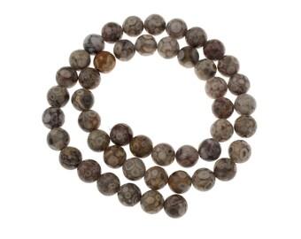 Natural Tibetan Agate Dzi Beads Maifan Stone Round Beads Strands 6 or 8mm