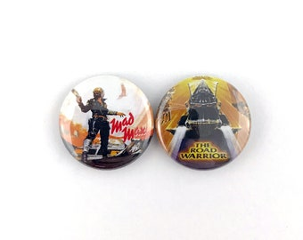 "Mad Max / The Road Warrior Mini-Poster Collection - 1"" Button Pin Set"