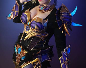 Signed Cosplay print of 'Lineage 2 armor' cosplay by PretzlCosplay A4 size
