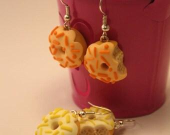 donuts handmade earrings