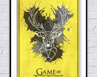 Game of Thrones House Baratheon Poster