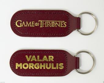 Game of Thrones Valar Morghulis Keyring - Jaqen H'ghar