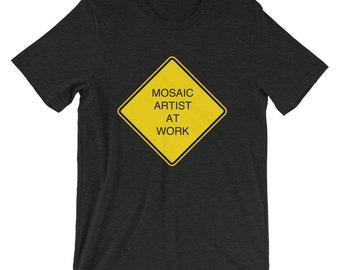 Danger Mosaic Artist at Work - Short-Sleeve Unisex T-Shirt