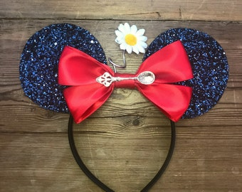 Disney Ears - Mary Poppins Inspired Minnie Mouse Ears! A Spoon Full Of Sugar -  Micky Mouse Ears - READY TO SHIP!