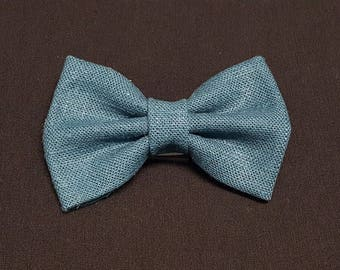 Elegant Teal Bow Ties