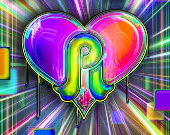 PL Love Squared (Pretty Lights poster)