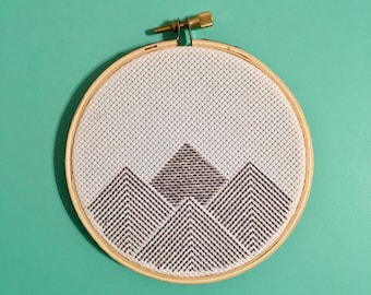 Cross Stitch Mountains
