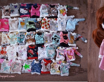 Blouse ,Sweatshirt , oversize ;) Pullip, Tangkou and similar dolls...40 color variants