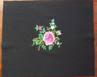 Bouquet of flowers to sew applique