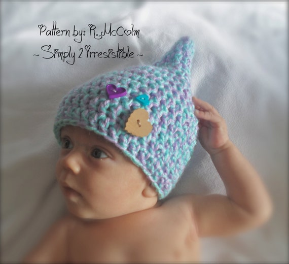 Gnome pixie elf hat crochet pattern 24 newborn to 12 months gnome pixie elf hat crochet pattern 24 newborn to 12 months sizes included us and uk terms instant download from simply2irresistible on etsy dt1010fo
