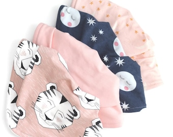 Baby bib gift set-baby bibs -baby gift set-baby bib set-baby bib bundles-new baby gift basket-baby gift pack -baby shower set, bandana bibs