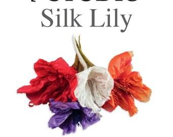 Silk Lily Felting Kit