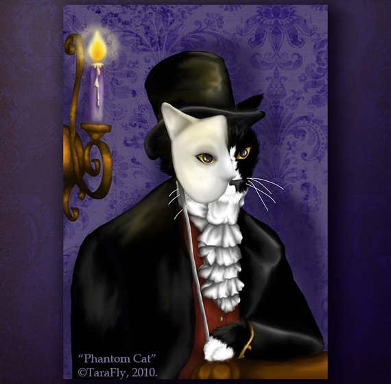 Phantom Cat 8x10 Fine Art Print