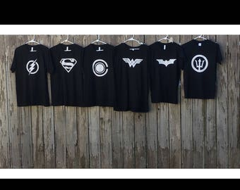Justice League shirts